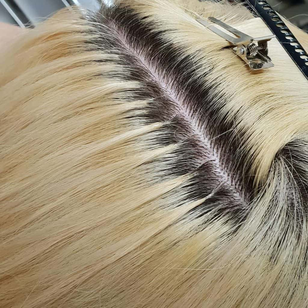 Hair Extension Bonds Example