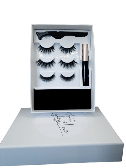 Magnetic Lashes open box